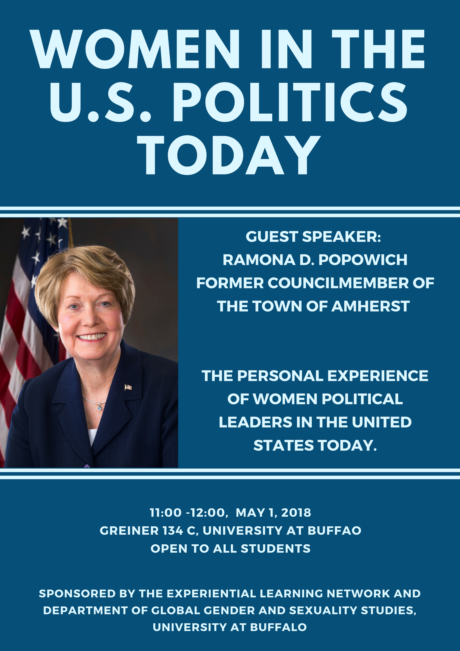 Guest Speaker:  Ramona D. Popowich Former Councilmember of the Town of Amherst